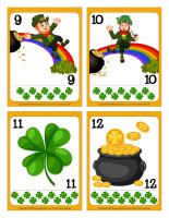 Cartes à jouer-Les farfadets de la Saint-Patrick-3