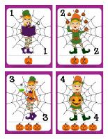 Cartes à jouer-Les lutins de l'Halloween-1