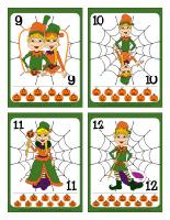 Cartes à jouer-Les lutins de l'Halloween-3
