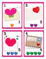 Cartes à jouer-Lettres d'amour-1