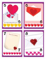 Cartes à jouer-Lettres d'amour-2
