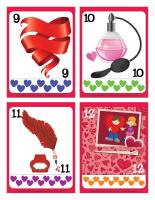 Cartes à jouer-Lettres d'amour-3