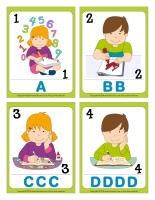 Cartes à jouer-Lettres de l'alphabet-1