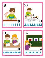 Cartes à jouer-Lettres de l'alphabet-3