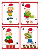 Cartes à jouer-Noël-Le partage-1