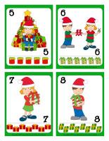 Cartes à jouer-Noël-Le partage-2