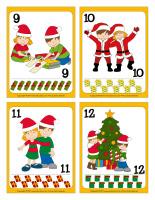 Cartes à jouer-Noël-Le partage-3