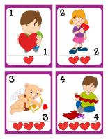 Cartes à jouer-Saint-Valentin-1