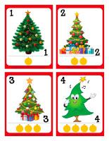 Cartes à jouer-Sapin de Noël-1