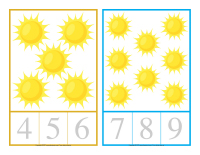 Cartes compter-Le soleil-1