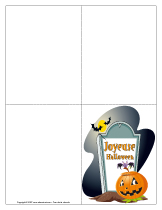 Cartes couleur-Halloween