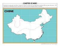 Cartes d'Asie