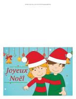 Cartes de Noël-Couleur 2018-2