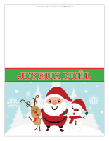 Cartes de Noël-couleur 2017