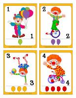 Cartes de jeux-Les clowns-1