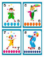Cartes de jeux-Les clowns-2