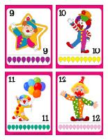 Cartes de jeux-Les clowns-3