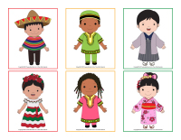Cartes multiculturelles à associer-1