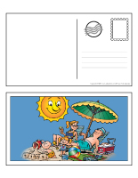 Cartes postales - Les vacances