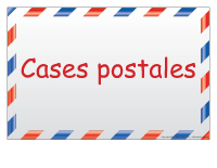 Case postale personnalisées