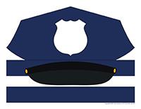 Casquette de police
