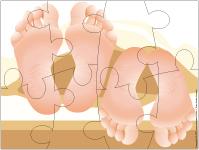 Casse-têtes - Des pieds et des mains