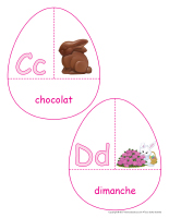 Casse-têtes-Abécédaire-Pâques