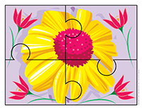 Casse-têtes-Fleurs