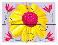 Casse-têtes-Les fleurs