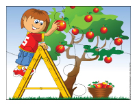 Casse-têtes-Les pommes
