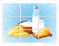 Casse-têtes-Les produits laitiers
