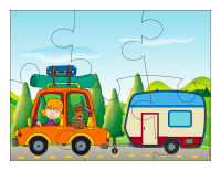 Casse-têtes-Moyens de transport