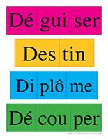 Casse-têtes de mots-Lettre D