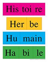 Casse-têtes de mots-Lettre H