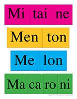 Casse-têtes de mots-Lettre M