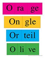 Casse-têtes de mots-Lettre O