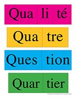 Casse-têtes de mots-Lettre Q