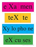 Casse-têtes de mots-Lettre X