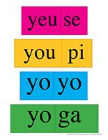 Casse-têtes de mots-Lettre Y