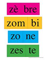Casse-têtes de mots-Lettre Z