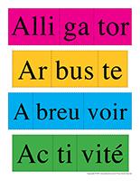 Casse-têtes des mots-Lettre A