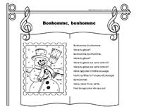 Chanson - Bonhomme, bonhomme