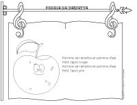 Chanson - Pomme de reinette