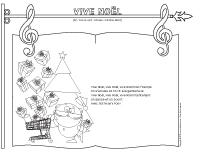 Chanson - Vive Noël