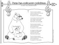Chanson – tous les animaux polaires