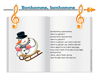Chanson-Bonhomme bonhomme