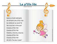 Chanson-La p'tite fée