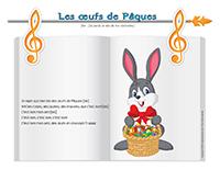 Chanson-Les œufs de Pâques