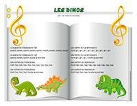 Chanson-Les dinos