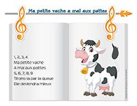 Chanson-Ma petite vache a mal aux pattes